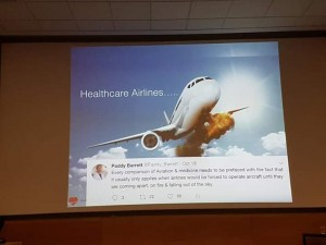 Dr paddy Barett - Airlines and Healthcare