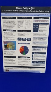 Galway Poster winner Alarm Fatigue