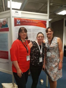 AMNCH team with poster EuroHeartCare Dublin 2018