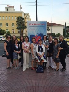 Attending EuroHeartCare Athens 2015