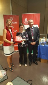 Congratulations to Aisling Kelly, Waterford on winning the AED at the CPR workshop at EuroHeartCare Dublin 2018