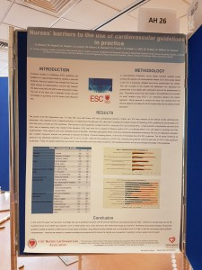 INCA Poster 'Nurses barriers to the use of cardiovascular in Practice'