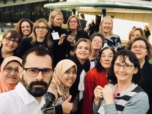 International delegates at the Train the Trainer Workshop