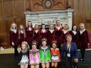 Irish danacers, Opening Reception
