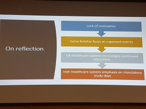 Kelly Huish presentation, improving professional development in cardiology